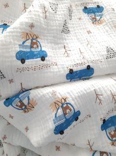 Muslin Swaddle Blanket Lightweight Cotton Baby Blanket | Etsy Toddler Blanket, Baby Boy Blankets, Muslin Swaddle Blanket, Baby Swaddle, Rainbow Decorations, Stroller Blanket, Baby Warmer, Woodland Baby, Newborn Gifts