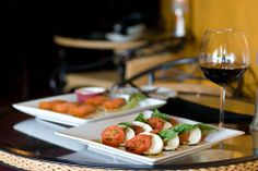 Chow down on Italian and Spanish food, married at the Panevino Wine & Tapas Bar in Enid, Oklahoma.