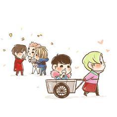[fanart] #BIGBANG :: FXXK IT at SBS Inkigayo 