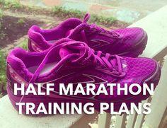 Popular Half Marathon Training Plans