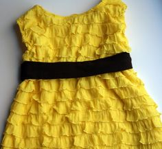 20 Minute Ruffle Dress - The Sewing Rabbit