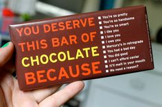 more chocolate for my favorite Packaging Pick Of The Day peeps. You deserve it!