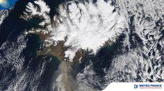 Eruption du volcan Eyjafjöll en Islande