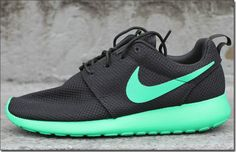 I'm obsessed with Nike roches and this color green