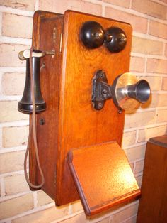 1800s Telephone Oh my gosh we had this phone when I was growing up in our upstairs!!!!
