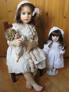 Sissel Bjorstadt Skille... Биография ... / Коллекционные куклы Sissel Bjorstadt Skille, Сиссель Скилле / Бэйбики. Куклы фото. Одежда для кукол