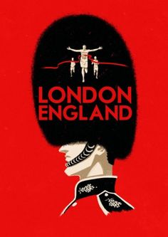 The illustration portfolio of Rui Ricardo, a truly versatile artist, popular for his vintage travel illustrations and charming characters. England Travel Poster, London England Travel, London Travel, Art Vintage, Vintage Prints, Poster Retro, Website Design, Design Poster, Vintage Travel Posters