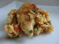 Czary w kuchni- prosto, smacznie, spektakularnie.: Pilaf z kurczakiem i ryżem jaśminowym Chicken, Meat, Food, Essen, Meals, Yemek, Eten, Cubs