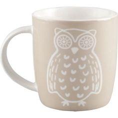 Home of Style Owl Mug - Neutral from Homebase.co.uk