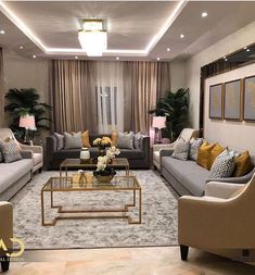 35 The Best Luxury Living Room Designs from Favorite Celebrities Trap - gameofthron Living Room Decor Cozy, Elegant Living Room, Living Room Grey, Home Living Room, Interior Design Living Room, Modern Living, Cozy Living, Small Living, Hanging Lights Living Room