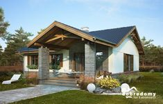 House Layout Plans, My House Plans, House Layouts, House Floor Plans, Barn House Design, Bungalow House Design, Modern House Design, Stone Cottages, Cabins And Cottages
