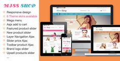 This Deals Miss Shop - Responsive Magento ThemeYes I can say you are on right site we just collected best shopping store that have