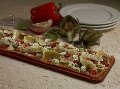 Artichoke & Goat Cheese Flatbread