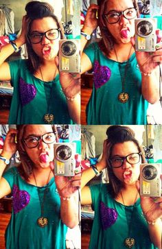 I love taking pictures of myself :) Its like my self-confidence exercise. I recommend it to everyone. lol.