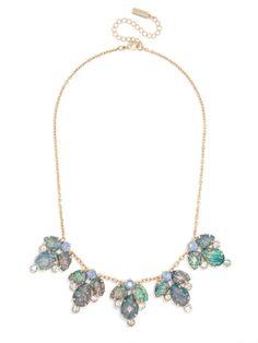 Opal Petal Collar Necklace | BaubleBar