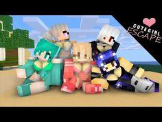 Minecraft Anime Girls, Minecraft Funny, Minecraft Art, Minecraft Stuff, Monster School, Monster Girl, Steven Universe Fan Fusions, Anime Henti, Character Design Girl