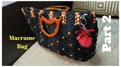 How to make Macrame Bag in professional way I PART-2