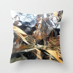 GOLD As ICE  Pillow by JUST3Js on Etsy