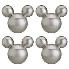 Mickey Mouse drawer pulls.