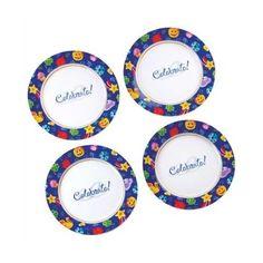 Celebrate! Set-4 Dessert Plate