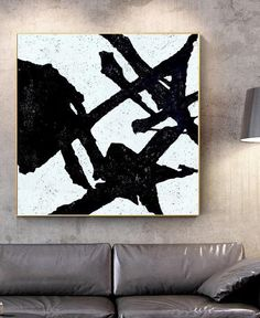 Minimalist Painting, Minimalist Art, Black And White Abstract, White Art, Texture Art, Texture Painting, Original Art, Original Paintings, Large Canvas Art