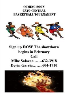 Cayo Central Basketball Tournament