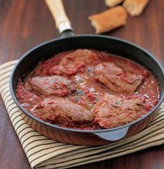 Ostrich fillets with pizzaiola sauce | Woolworths TASTE