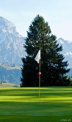 Villars golf club, Gryon, Switzerland