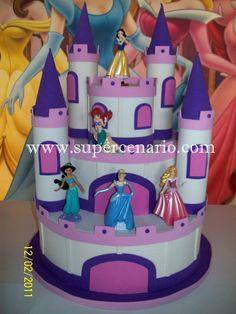 decoração princesas disney - Pesquisa Google