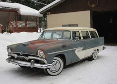 1956 Plymouth Suburban Station Wagon Barn Find For Sale