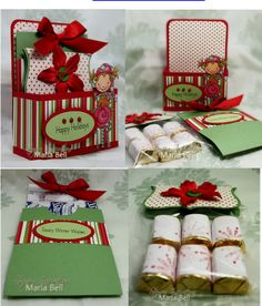 Treat Box, Simple Cocoa Packet Pocket and Top Notes Bag Topper Set