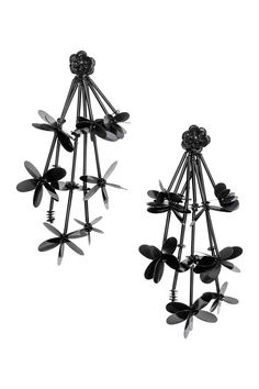 Boucles d'oreilles longues - Noir - FEMME | H&M FR 1