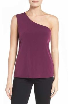 Bobeau One-Shoulder Top