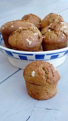 Muffins à la banane et gingembre confit