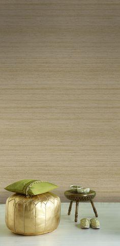 Empapelado - Madera beige - Papel de parede