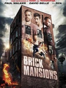 Brick Mansions rip off  from Banlieue 13 which i liked better.