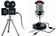 Webkamera  a mikrofon