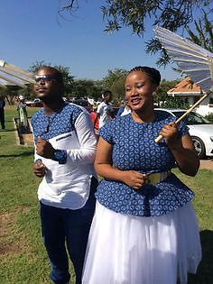 the best couples shweshwe dresses for We accept aggregate the ultimate account of couples analogous apparel account to advice booty your accord Wedding Dresses South Africa, African Wedding Attire, African Attire, African Wear, African Women, African Weddings, African Shirts, African Print Dresses, African Dress