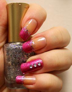 Goodly Nails: Sydämiä ja glitteriä