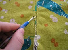 ripping zipper seam by brettbara