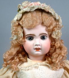 "~OTHER WORLDLY~ 26"" FRENCH Jumeau Antique French Bebe Doll Size 12 $1 No Reserve"