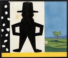 Madrid-Paris-Madrid - Eduardo Arroyo - - Pop Art, 1985