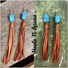 Gypsy Cowgirl Tassel Earrings