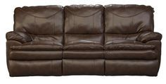 TATE II POWER RECLINE SOFA $1,099.99 Sku:134659 Dimensions:85Wx42Dx42H Baseball fans will love the Tate Collection. Baseball stitching in contrasting thread is triple stitched adding reinforcement to the already sound stitching. This style offers a pub back design with a plush pillow top cushion. The seat backs are high which will provide full head support. Visit our website for benefits and warranty information.