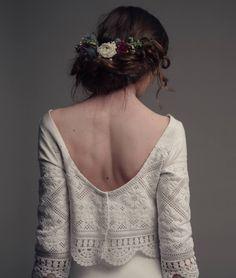 Egyedi esküvői ruhák tervezése és kivitelezése, bérlése. palfybibor@gmail.com tel.: 06-30-628-6997 Backless, Wedding Dress, Lace, Dresses, Women, Fashion, Bride Groom Dress, Vestidos, Moda