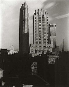 New York (1 of 3) by Alfred Stieglitz (1864 - 1946)