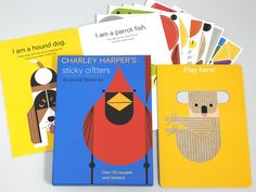 Sticky Critters Vinyl Stickers — Charley Harper Gallery