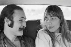 Rare: Joni Mitchell and David Crosby in 1969 (Picture: Henry Diltz Corbis)