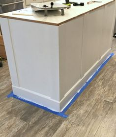 How to build a kitchen island (easy DIY Kitchen Island) - Painting Kitchen Cabinets - Build Kitchen Island, Kitchen Islands, Kitchen Island Using Stock Cabinets, Kitchen Counters, Building A Kitchen, Diy Kitchen Remodel, Kitchen Remodeling, Diy Kitchen Storage, Diy Garden