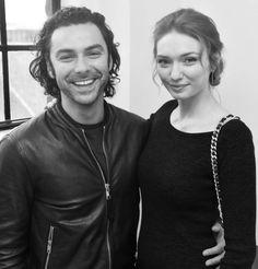 Eleanor and Aidan at BBC Radio 2 studio